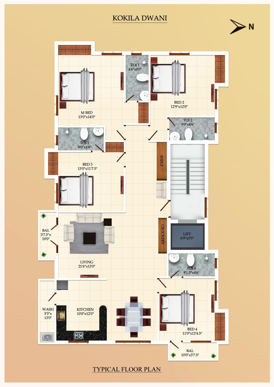 Premium Residential Apartments for Sale in Anna nagar, Adyar ...