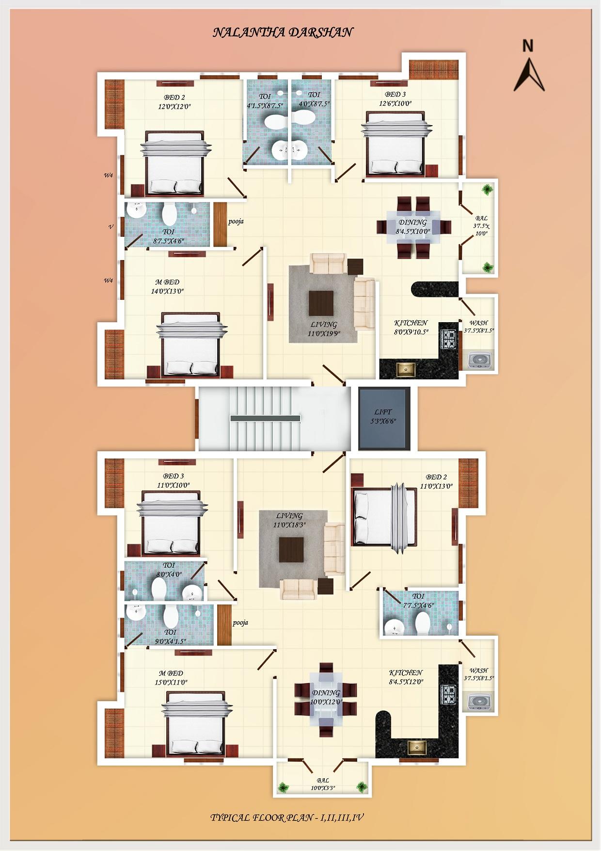 Premium Residential Apartments For Sale In Anna Nagar